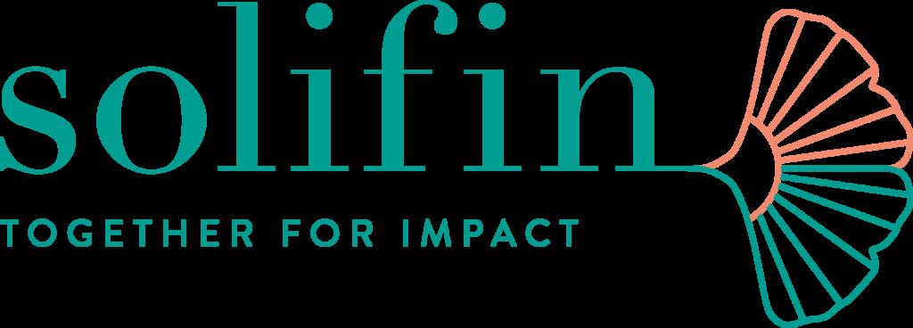 logo of social impact organization Solifin