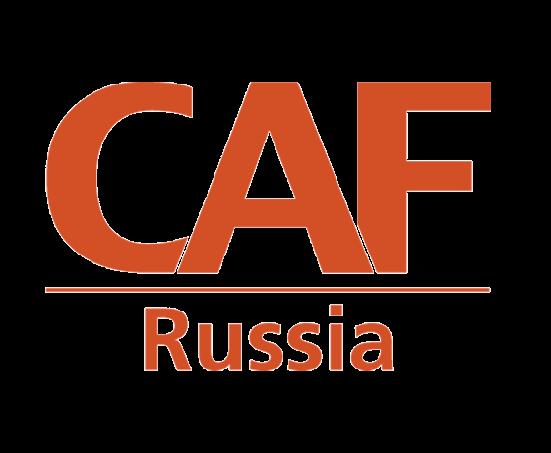 caf russia social impact organization logo