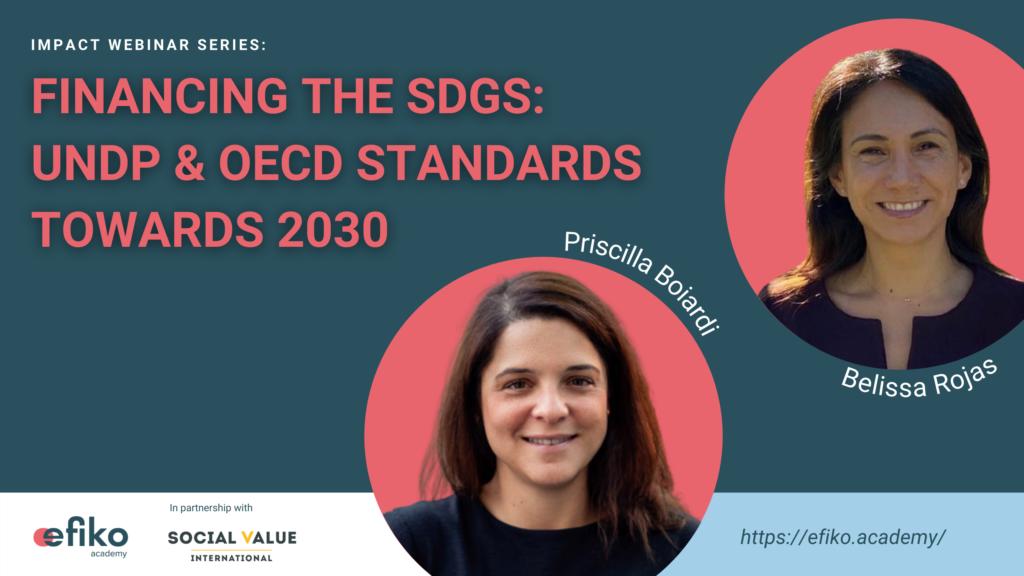 Impact webinar series - financing the sdgs - double materiality - UNDP & OECD impact standards towards 2030